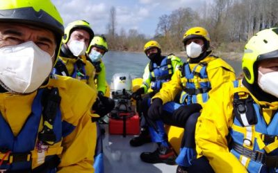 Prove di navigazione con Motoraft WRS Rescuer M400