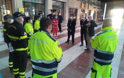 Covid-19: la squadra di Firenze a supporto di ATAF e FS