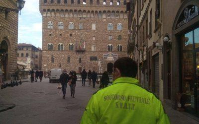 Covid-19: assistenza alla popolazione nel centro di Firenze
