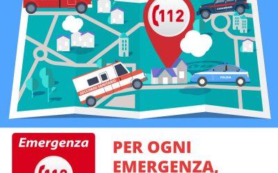 NUE 112: attivo in tutti i distretti della Toscana